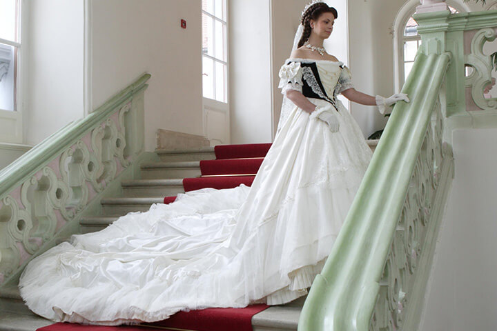 Der Modeschrank der Kaiserin Sisi